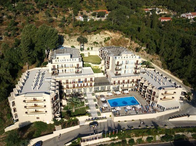 Grecia Corfu Agios (Saint) Ioannis Peristeron (South) BELVEDERE 1