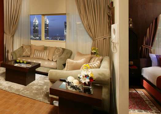 Emiratele Arabe Unite Dubai Al Barsha FIRST CENTRAL HOTEL APARTMENT (EX AURIS) 4