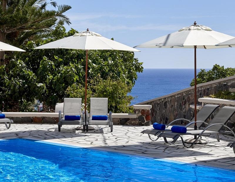 Grecia Santorini Kamari - Monolithos TERRA BLUE 1