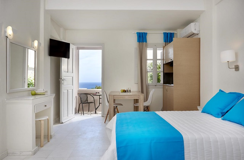 Grecia Santorini Kamari - Monolithos TERRA BLUE 3