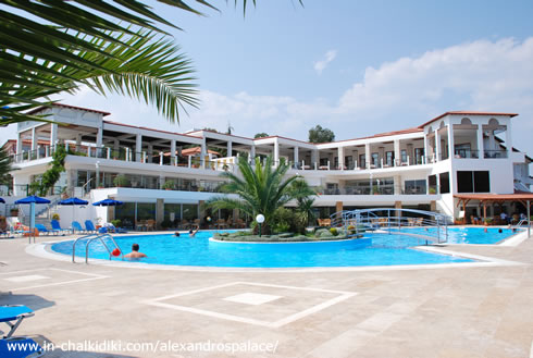 Grecia Halkidiki Athos ALEXANDROS PALACE HOTEL AND SUITES 2