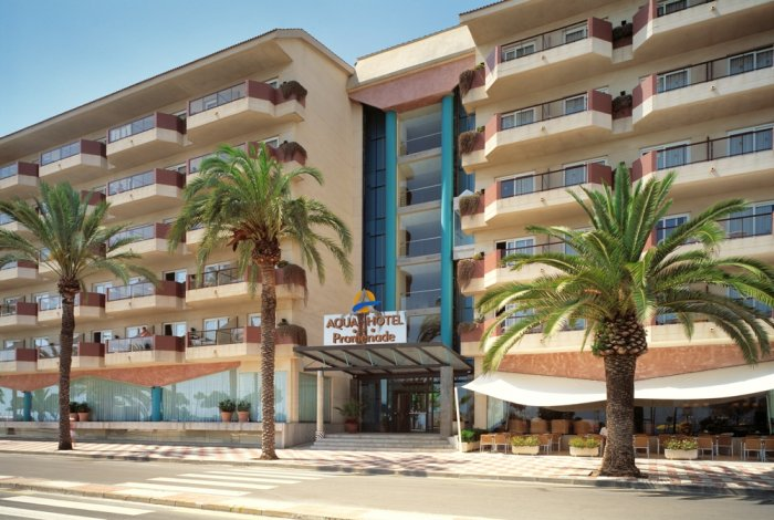 Spania Costa Brava Pineda De Mar AQUA HOTEL PROMENADE 1